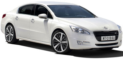 Presentation of the 2011 Peugeot 508.